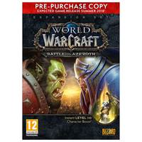 PC World Of Warcraft: Battle For Azeroth Pre- Purchase Copy