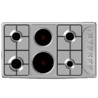 Bompani Built-In Electric Hob HL94.42 90CM-4GB+2HP