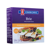 Emborg Brie White Mould Cheese 125 g