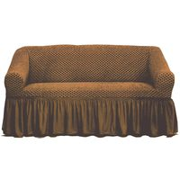 Tendance's Sofa Cover 2 Seater Mid Beige