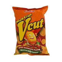 Jack n Jill Vcut Potato Chips Spicy Barbecue Flavor 60g