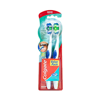 Colgate Toothbrush 360% Degree Medium Twin Pack