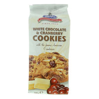 Merba White Chocolate & Cranberry Cookies 200g