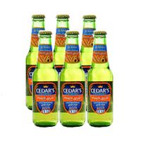Cedar''s Premium Non-Alcoholic Beer Peach 250ML X6