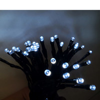Outdoor Bo 6.49M 60 White Led Timer Light Chain 8Functions N71A