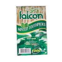 Falcon Wrapped Toothpicks With Mint 1000 Pieces