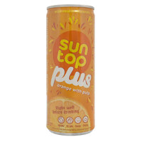 Suntop Plus Orange With Pulp 240ml