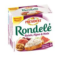 Président Rondele Raisin Fig Walnut 125g