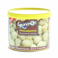 Crunchos Roasted & Salted Macadamia 100g
