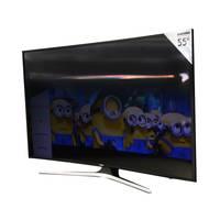 تلفزيون سامسونج بشاشة سمارت منحنية ألترا إتش دي بتقنية 4K حجم 55 إنش موديل 55MU7350 لون أسود