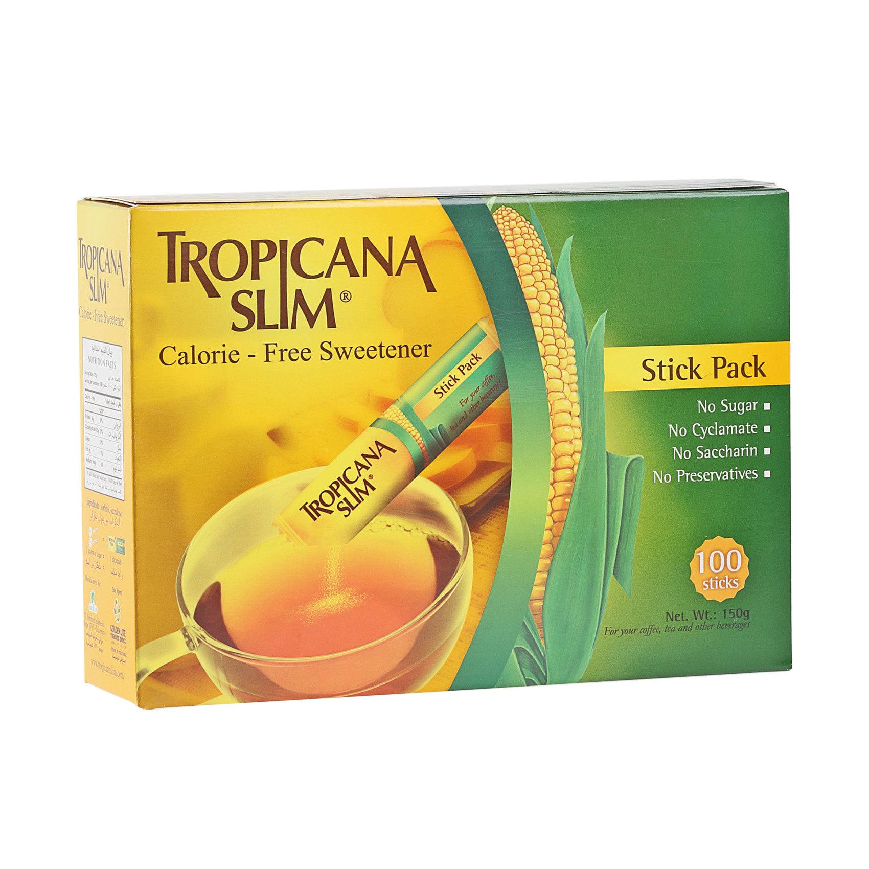 TROPICANA SLIM SWEET 0.CLR 150G