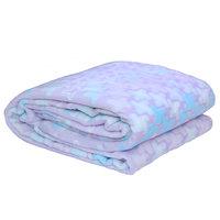 3D Super Soft Flannel Blanket Single Blue