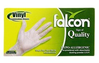 Falcon Venyl Gloves 100 Pieces Midium