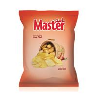 ماستر شيبس بطاطا بنكهة الفلفل الحار 125 غرام
