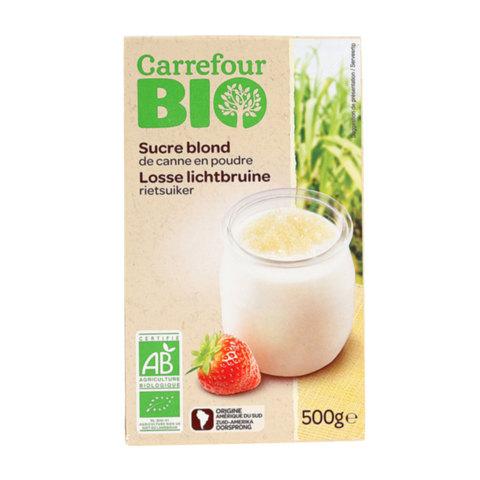 Carrefour-Bio-Organic-Cane-Blond-Sugar-500g