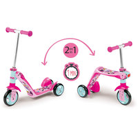Smoby - Disney Minnie Mouse 2-in-1 Reversible Scooter