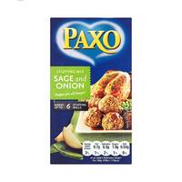 Paxo Sage & Onion Stuffing 85GR