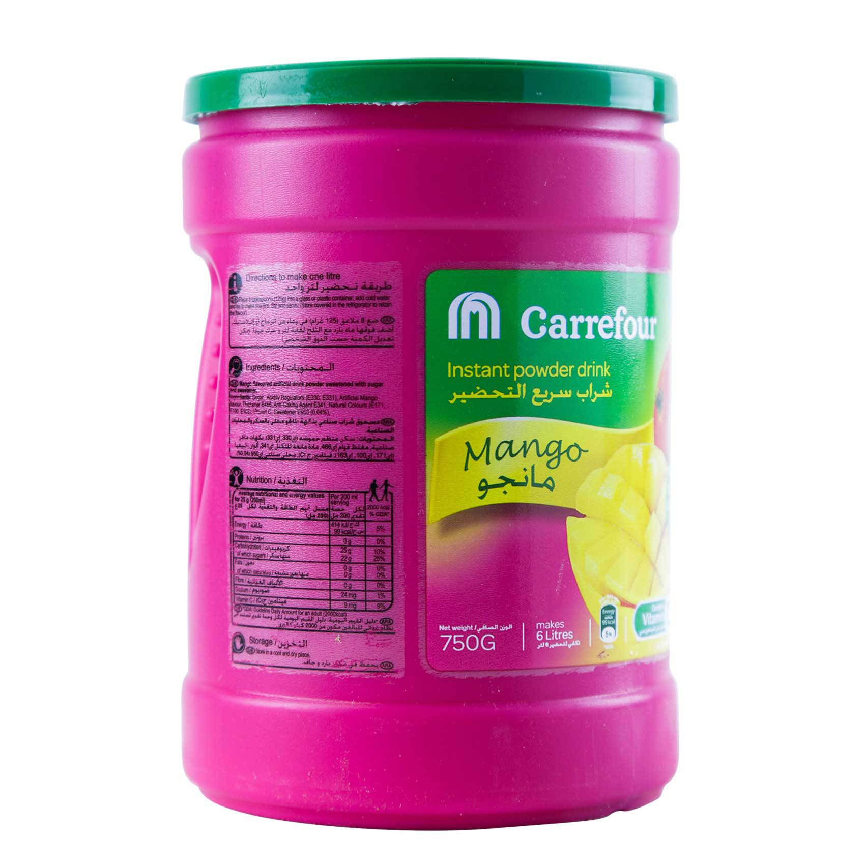 CRF POWDER DRINK MANGO 750G