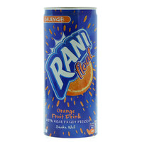Rani Float Orange Fruit Drink with Real Fruit Pieces 240ml