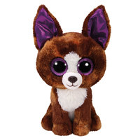Ty Beanie boos dog chihuahua brown regular 6""