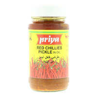Priya Red Chillies Pickle in Oil 300g