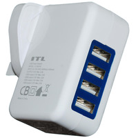 ITL Charger YZ-562UH 4USB HUB