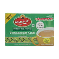 Wagh Bakri Unsweetened Instant Tea Premix Cardamom Chai 140g