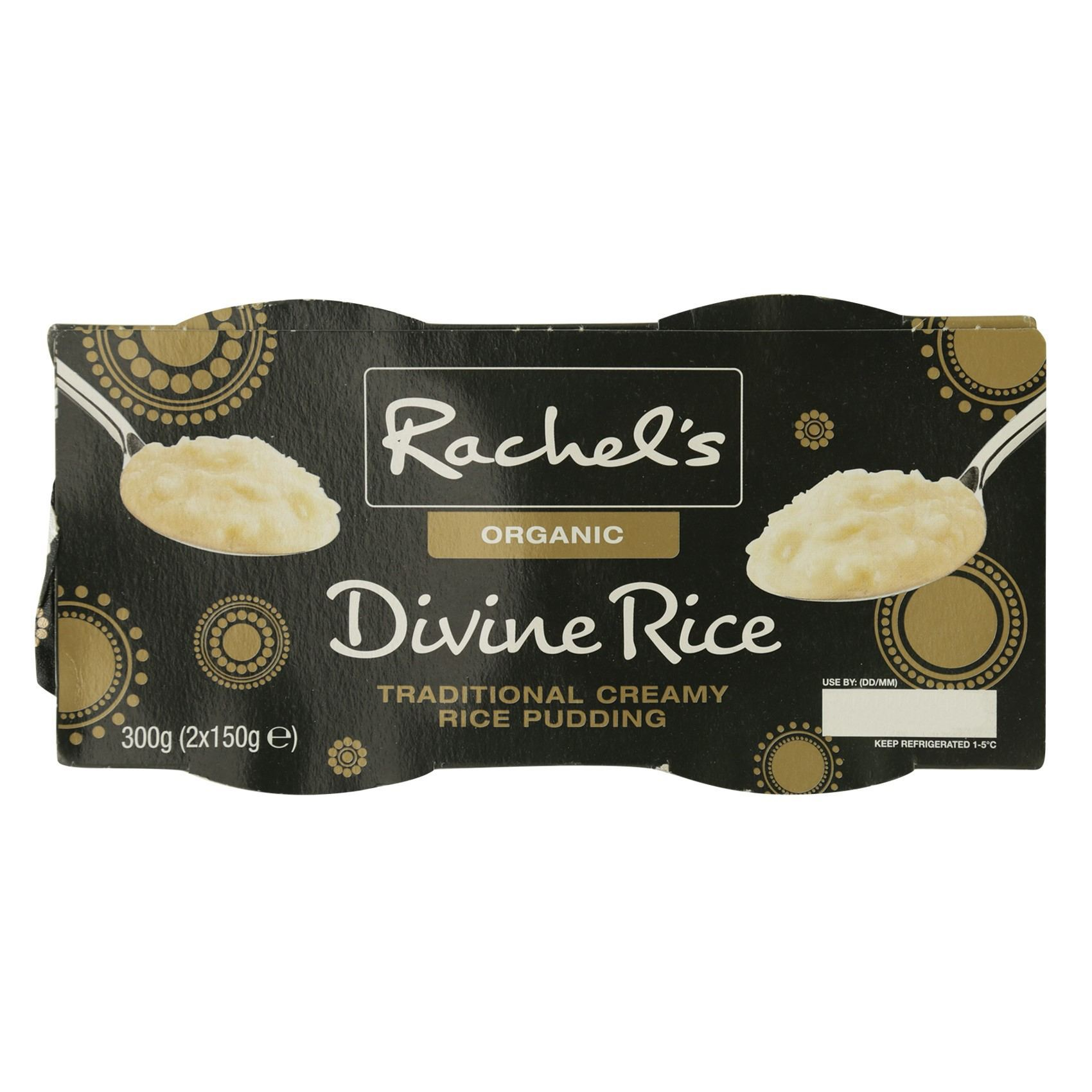 RACHEL'S O DIVINE RICE TRAD 150GX2