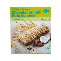 Carrefour Cereal Bar Choco And Coconut 125 Gram