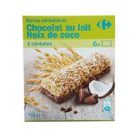 كارفور حبوب بالشوكولاتة وجوز الهند 125 غرام