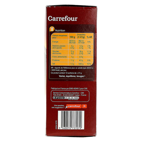 Carrefour-Toasted-Whole-Wheat-Bread-500g