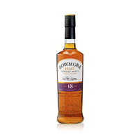 Bowmore 18 Years whisky 43%V Alcohol 70CL