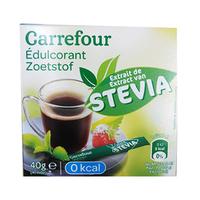 Carrefour Sweetener Stevia sticks x40