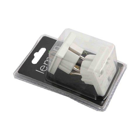 Buy Lemon Adaptor Europ To Uk 2 Pieces Online Shop Null On