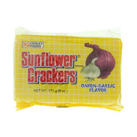 Croley Foods Sunflower Onion Garlic Flavor Crackers 170g