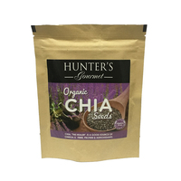 Hunter's Gourmet Organic Chia Seeds 150g