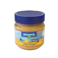 Monarch Crunchy Peanut Butter 340GR