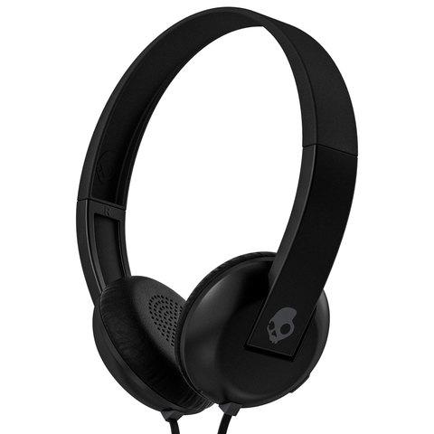 Skull-candy-Headphone-Uproar-W/Mic-Black