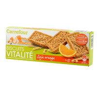 Carrefour Orange Soy Biscuits 200g