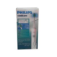 فرشاة أسنان كهربائية فيليبس للعناية بالنظافة قابلة لإعادة الشحن قطعة واحدة لون أبيض