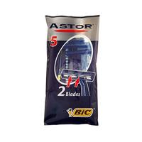 Bic Astor Razor Blades Pack Of 5