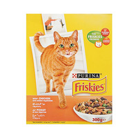 Friskies Cat Food With Chicken & Added Vegetables 300GR