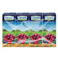 Lacnor Essentials Mix Berries Fruit Drink 180mlx8