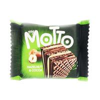 My Motto Wafer Hazelnut And Chocolate 34GR