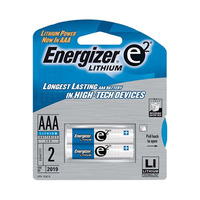Energizer Lithium AAA 2 Batteries
