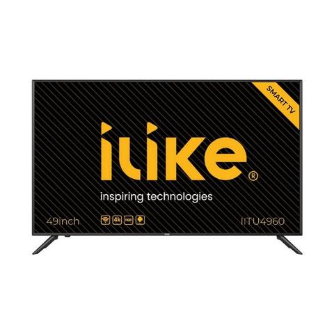 """iLike-UHD-Smart-TV-4K-49""""IITU4960-Black"""