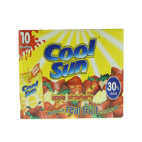 Cool Sun Apple Strawberry Nectar Juice 200mlx10