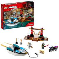 Lego  Juniors Zane's Ninja Boat Pursuit