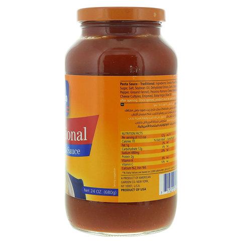 American-Garden-Traditional-Pasta-Sauce-680g