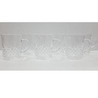 Glass Tea Mug 6Pcs Set 23Cl